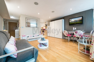 Luxury two bedroom apartment for sale in landmark development, St George Wharf