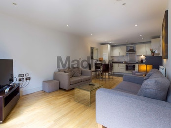 Stunning two bedroom in Indescon Square.
