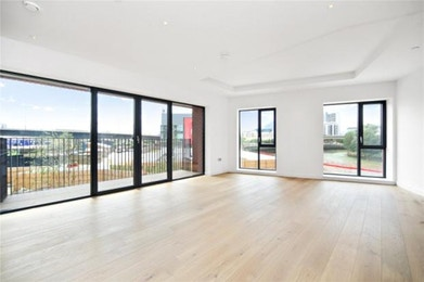 Decadently spacious and luxuriously styled 2 bed apartment moments from the tube in E14