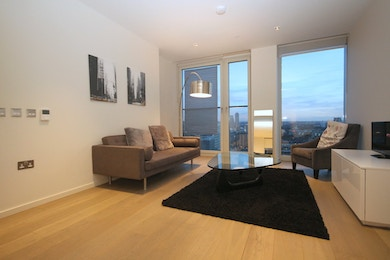 Large one bed apartment available to let in brand new development with stunning views - £685 per week