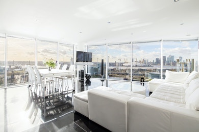 Views that you won't have seen before from this stunning E16 two bed, £799,950!