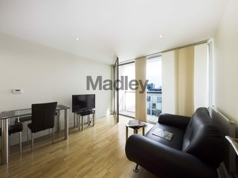 Amazing high spec 1 bed available in Denison House, South Quay, E14  for just £346 per week!